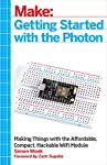 The Photon is an open source, inexpensive, programmable, WiFi-enabled module for building connected projects and prototypes. Powered by an ARM Cortex-M3 microcontroller and a Broadcom WiFi chip, the Photon is just as happy plugged into a hobb...