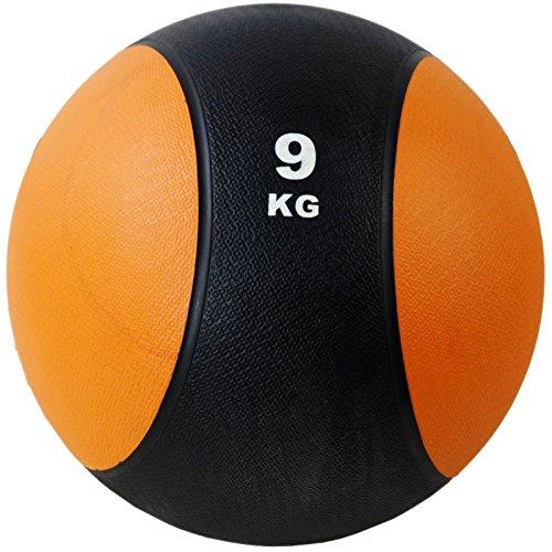 BodyRip Ballon de 9kg pour fitness, entraînement, musculation, santé