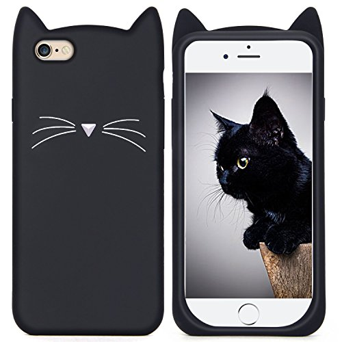0d1e9844ba iPhone 6s Silicone Case,ImikokoTM Slim-Fit Anti-Scratch Shockproof Soft  Silicone Case