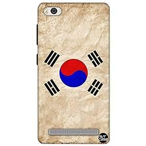 Designer Xiaomi Mi4i Case Cover Nutcase -South Korea Vintage Distressed Flag