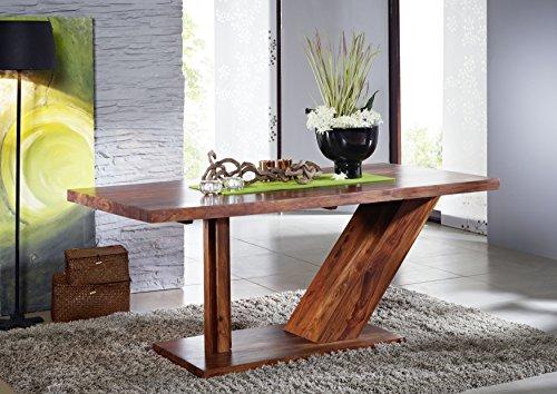Table 220x100cm - Bois massif de palissandre laqué - DUKE #134