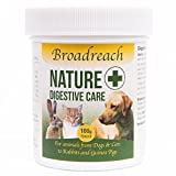 DIGESTIVE CARE - AWARD WINNING PRODUCT! - Developed by Vets to help sensitive or over-reactive digestion in Dogs, Cats, Rabbits, Guinea Pigs of any age- can be used short or long term 100g powder with scoop -200 scoops per pot approx 1 scoop per 5kgs in weight