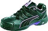Puma Safety Shoes Stepper Wns Low S2 HRO SRC, Puma 642880-234 Damen Espadrille Halbschuhe, Schwarz (schwarz/lila 234), EU 40