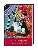 Rosina Wachtmeister Taschenkalender - Kalenderbuch A7 - Kalender 2019 - Heye-Verlag - Taschenkalender mit Schulferien - 7,9 cm x 11 cm