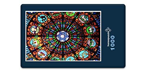 hansepuzzle 62952 Religion - Judentum, 1000 Teile in Hochwertiger Kartonbox, Puzzle-Teile in wiederverschliessbarem Beutel.