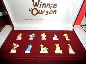 Fèves des rois collection Disney Coffret Prestige WINNIE L'OURSON ET SES AMIS + 1 couronne offert
