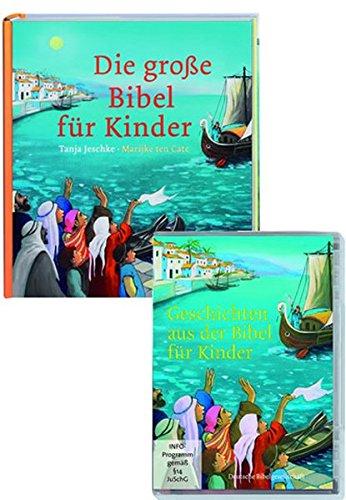 Die große Bibel für Kinder + Geschichten aus der Bibel für Kinder: Buch + DVD (Kinder Bibel-bücher Für)