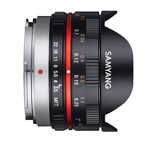 Samyang 7.5mm F3.5 UMC Fish-eye Objektiv Micro Four Third - 2