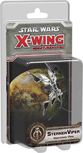 (Asmodee  HEI0424 - Star Wars X-Wing - Sternenviper Erweiterungs Pack)