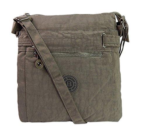 Jennifer jones, borsa a tracolla donna, grigio pietra (grigio) - a2040061-4