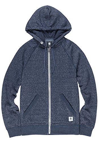 Element Meridian Zip Hoodie Blue