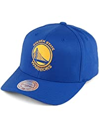 Casquette Team Logo High Crown Golden State Warriors 110 bleu roi MITCHELL & NESS