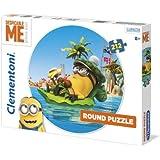 Minions - Puzzle redondo, 212 piezas (Clementoni 21405.1)