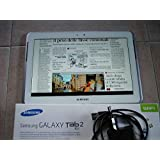 Samsung Tablet Galaxy Tab 2 Display 10.1 Pollici, Bianco, Samsung Italia