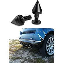 BlueBeach Pare-chocs Protection épi pour Smart Fortwo Coupé Passion Cabrio électrique (Noir)