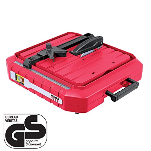 Preisvergleich Produktbild WALTER Werkzeuge TC115IA Elektrischer Fliesenschneider, 500 W, 230 V, Rot/Schwarz