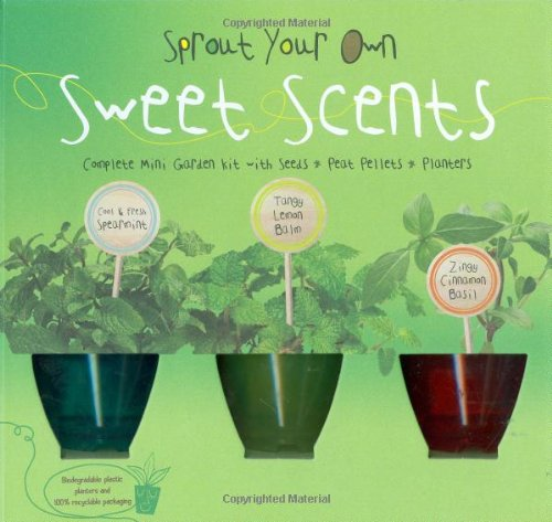 Sprout Your Own Sweet Scents: Complete Mini-Garden
