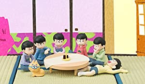 Megahouse Osomatsu San We Are Familia ESP Kitty Palmate Mini Figura