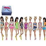 TIME4DEALS Vêtements décontractés de mode faits à la main pour la poupée Barbie robes / vêtements /robe de poupée