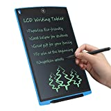 LCD Tableau d'Écriture Numérique 12 pouces Tablette Graphique Électronique LCD Writing Tablet,sans papier Écriture pour et le peinture Convient pour l'école à domicile Bloc-notes de bureau.(Bleu)