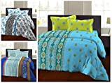 Bombay Dyeing Pack of 3 Double Bedlinen Set (DSN-04)