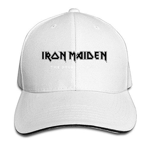 n Heavy Metal Band Logo Sandwich Cap Snapback Hat Style Navy ()
