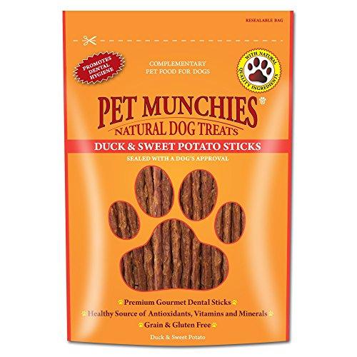 Pet Munchies Beef Liver Crunch, 90g, Confezione da 8