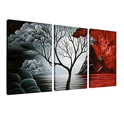 Wall art canvas painting for Wall artwork paintings