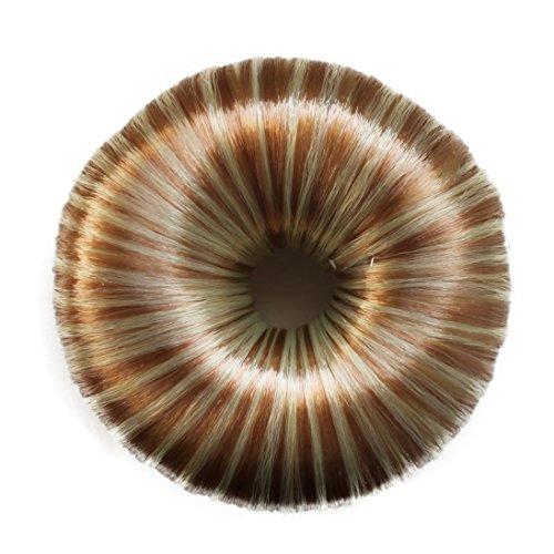 Knotenringe Knotenrolle Haarknoten Dutt Donut Bun Up Do Div. Farben (blondmix)