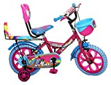 #10: NY Bikes Buzzer 14T Steel Kids Bicycle for 2 to 4 Years Kids (Pink & Sky Blue)