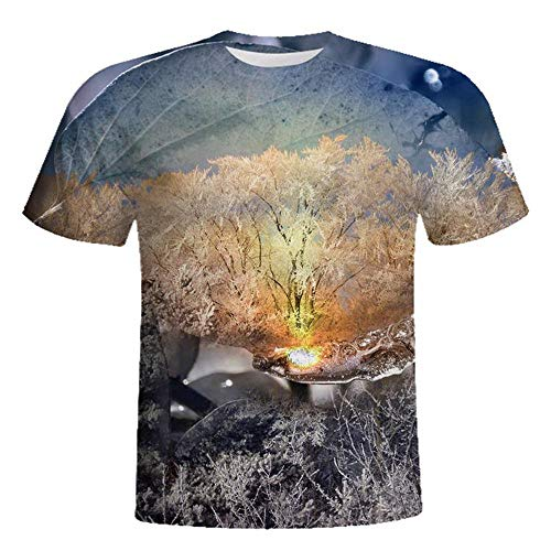 7180bb4e 2019 Camicia Uomo Maglietta Manica Corta - Uomo T Shirt Maglietta Animale  3D Stampa Tees Camicia