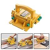 EBILUN Strumento di lavorazione del legno a pulsante di sicurezza per seghe da banco Router Tabelle segatrici a nastro
