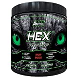 Hex Pre Workout - The Ultimate Pre Workout Supplement by Freak Athletics