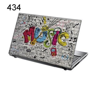 TaylorHe Folie Sticker Skin Vinyl Aufkleber mit bunten Mustern für 15 Zoll 15,6 Zoll (38cm x 25,5cm) Laptop Skin