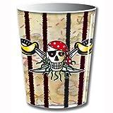Piraten Trinkbecher, 8 Stück