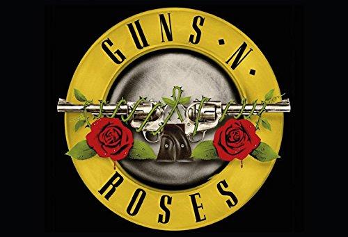 Guns N Roses 80er rock band querformat blechschild