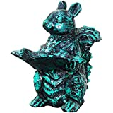 [Sponsored Products]Karara Mujassme Antique Green Cast Aluminium Squirrel Home Interior Décor