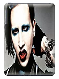 Custom unique Cool Marilyn Manson fashionable TPU Cellphone Protector Shield Case for ipad mini