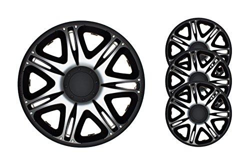4pc-set-wheel-trims-wheel-covers-hub-caps-barracuda-nascar-silver-black-14-inch