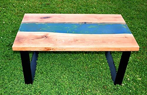 Couchtisch Wohnzimmertisch aus Holz von einem Birnbaum Echtholz Holztisch Wohnzimmer Massivholz UNIKAT