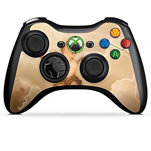 DeinDesign Microsoft Xbox 360 Controller Folie Skin Sticker aus Vinyl-Folie Aufkleber Liebe Love Amour (Grafik Xbox 360-controller)