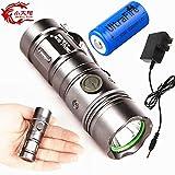NEW NICE Quality POWERFULL Rechargeable 3 Mode mini LED Torch light flashlight Long Range Rechargeable Flashlight Led Torch Torches