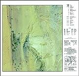 Bâris/Ägypten - Satellitenbildkarte: NG 36 A5 - 1:100000 -