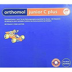 Orthomol junior C plus 30er Kautabletten Waldfrucht - Nahrungsergänzungsmittel für Kinder - Vitamine für das Immunsystem