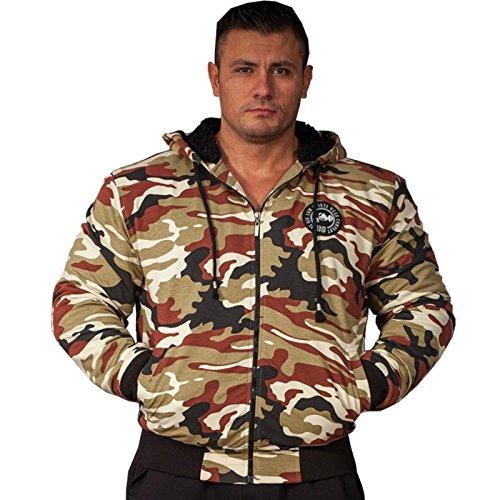 BIG SAM SPORTSWEAR COMPANY Camouflage KAPUZENJACKE Jacke Winterjacke Bomberjacke *4062*