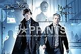 Sherlock Signed PP Benedict Cumberbatch Martin Freeman 12x8