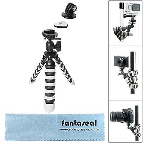 Fantaseal® 3-en-1 Mini 8'' Trépied Flexible Ultraléger Robuste Multifonctionnel, trépied