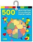 Les gommettes autocollantes - 500 gommettes autocollantes maternelle - De 3 à 5 ans