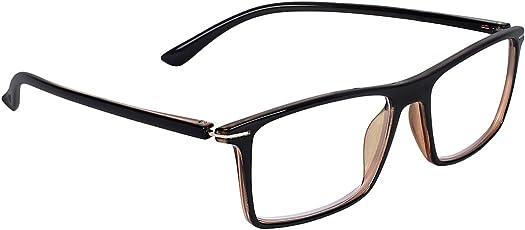 Zyaden Rectangular Eyewear Frame (FRAME-426|51MM|Black)