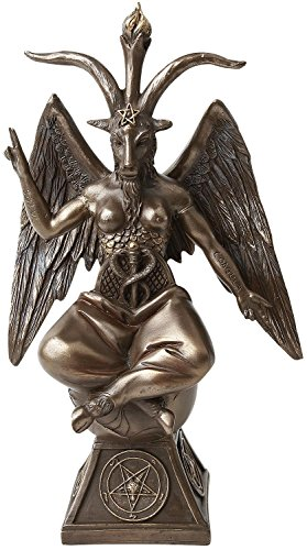 Nemesis Now Baphomet Bronze Decoration Article Bronze-coloured by Nemesis Now